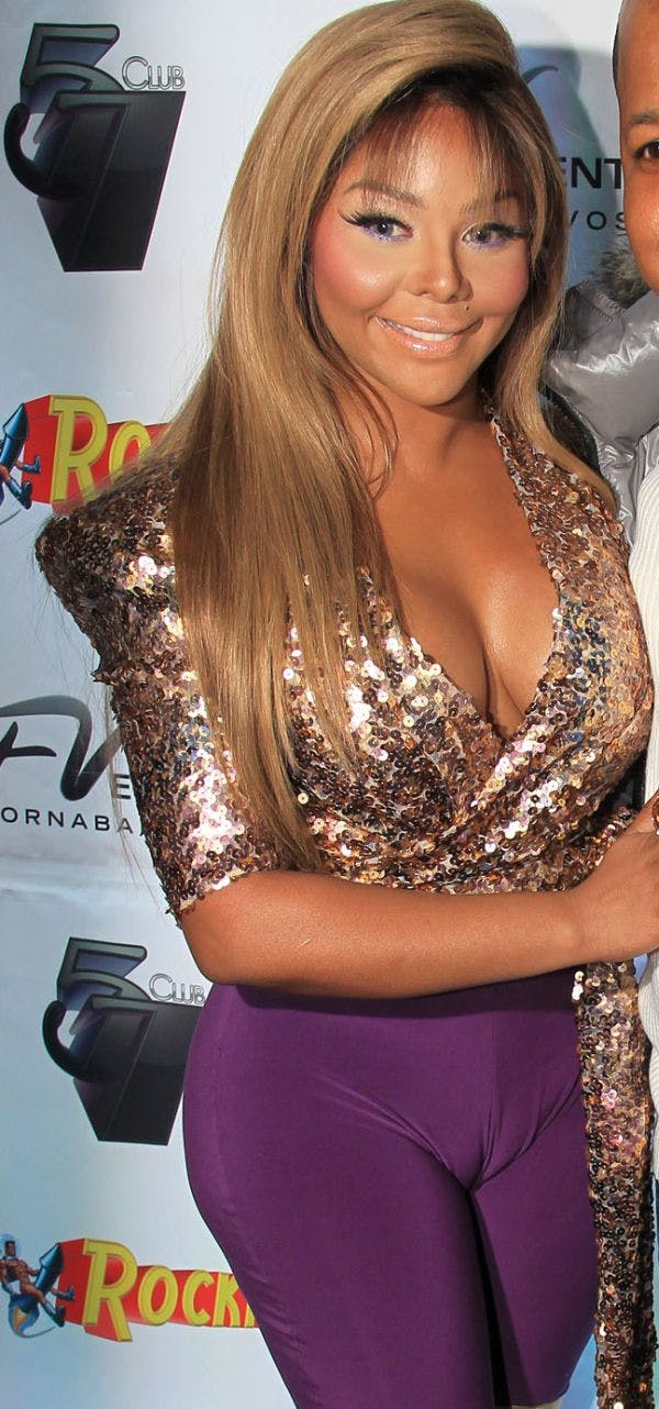 Lil Kim - Celebrities Camel Toe