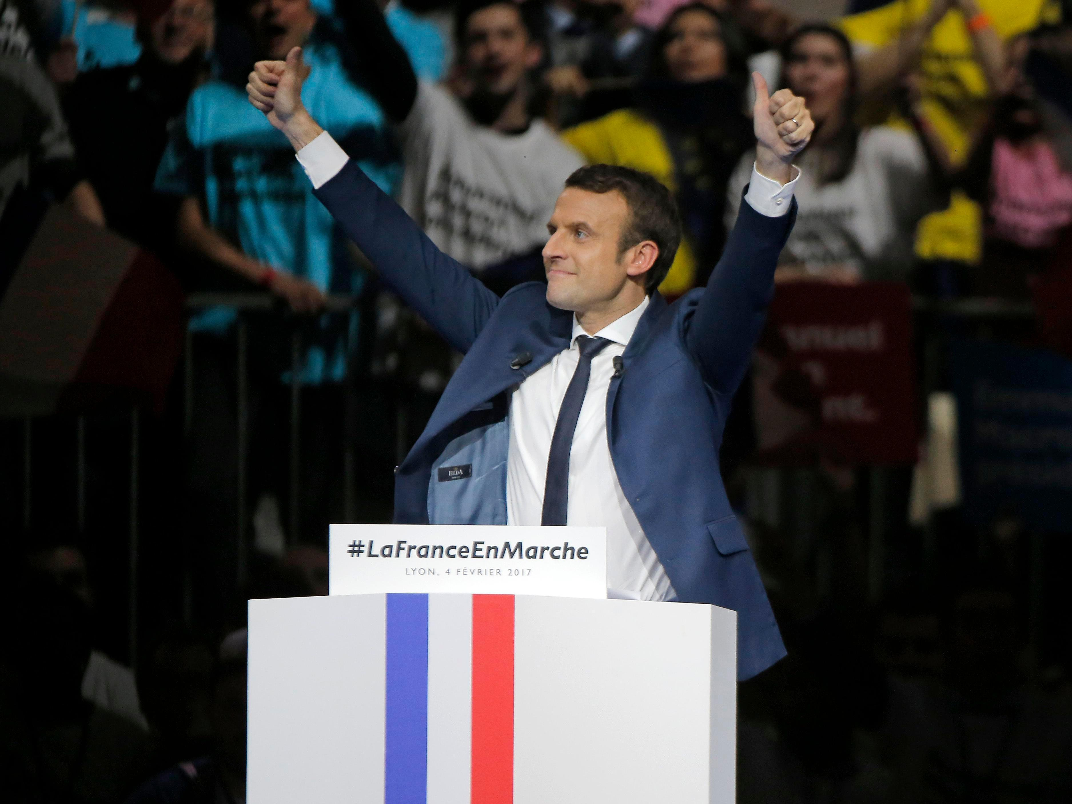 France- Macron's Victory in France