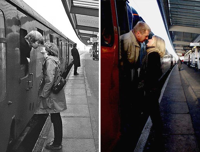 Railway Kiss