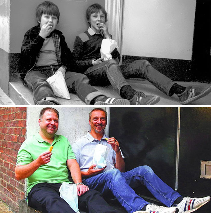 Recreated 40-Year-Old Pictures