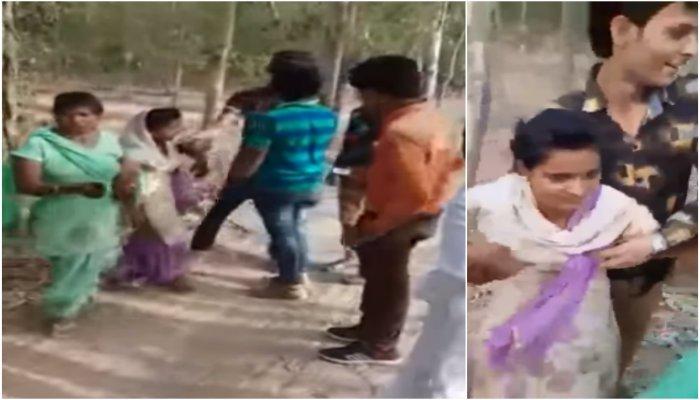 Women Molest In Up's Rampur -V1