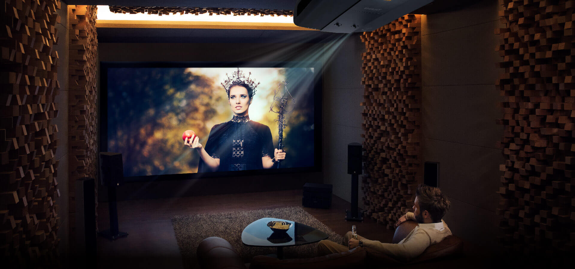 The Perfect Projector For Your Home Theater