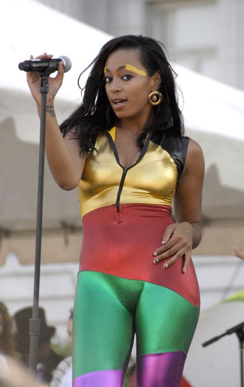 Solange Knowles - Celebrities Camel Toe