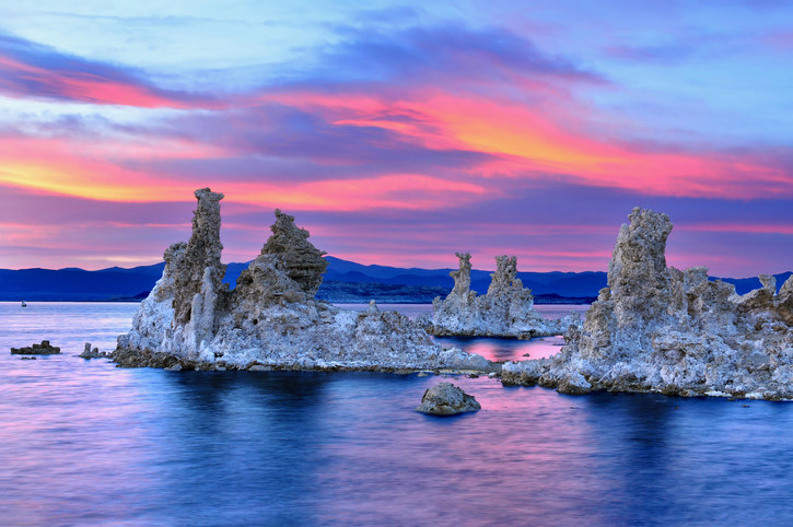 vacation spots in california