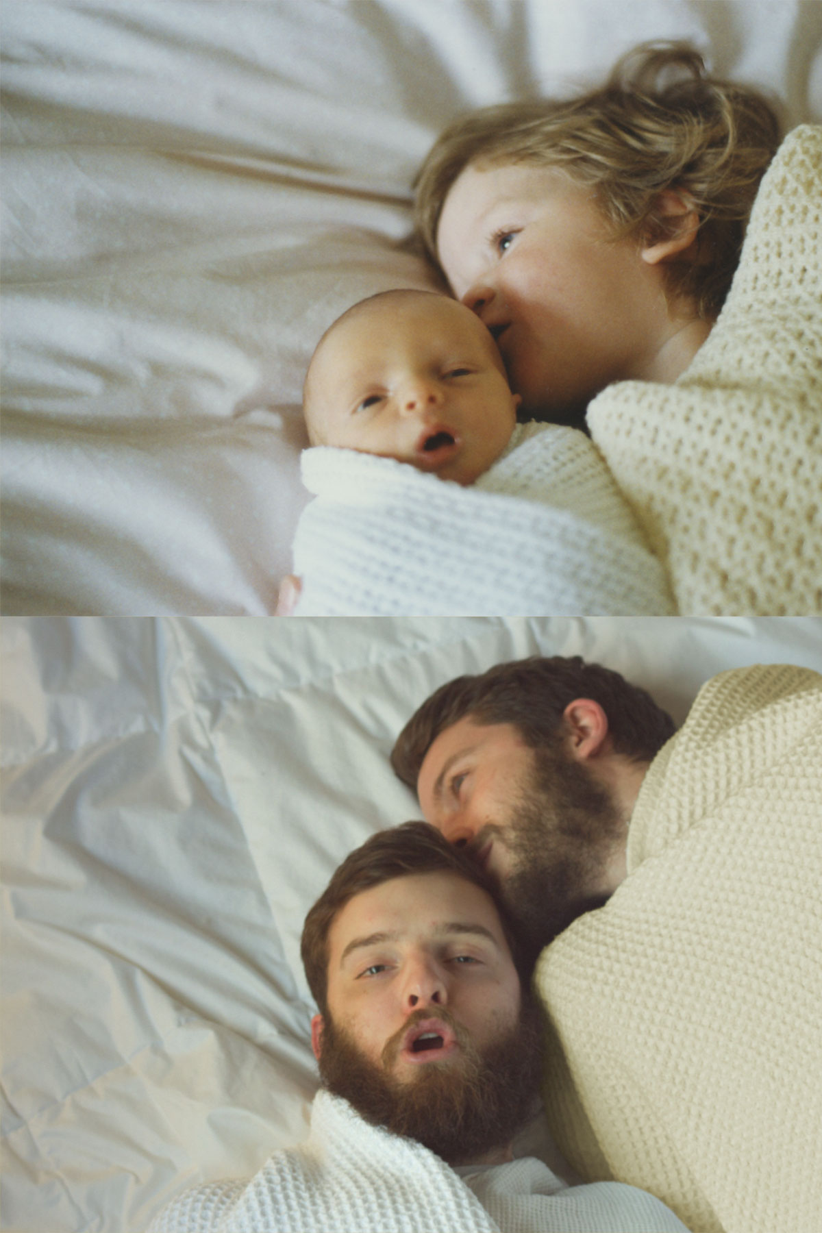 Amazing pictures recreated by father and son -V5