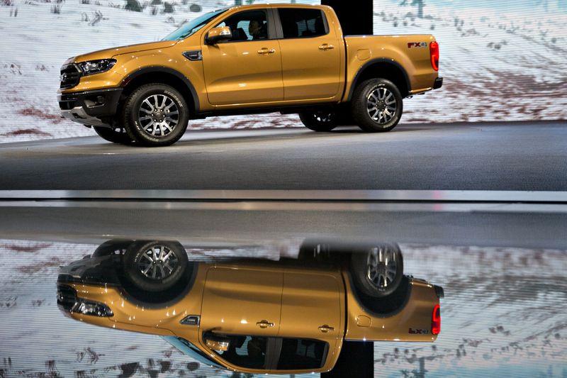 Ford Enlivening Ranger To Encash The Truck Boom -Car1