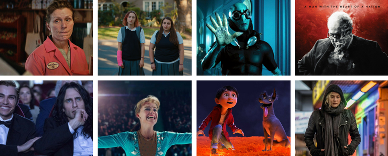 9 Films That Swept The 2018 Golden Globes Awards 2018