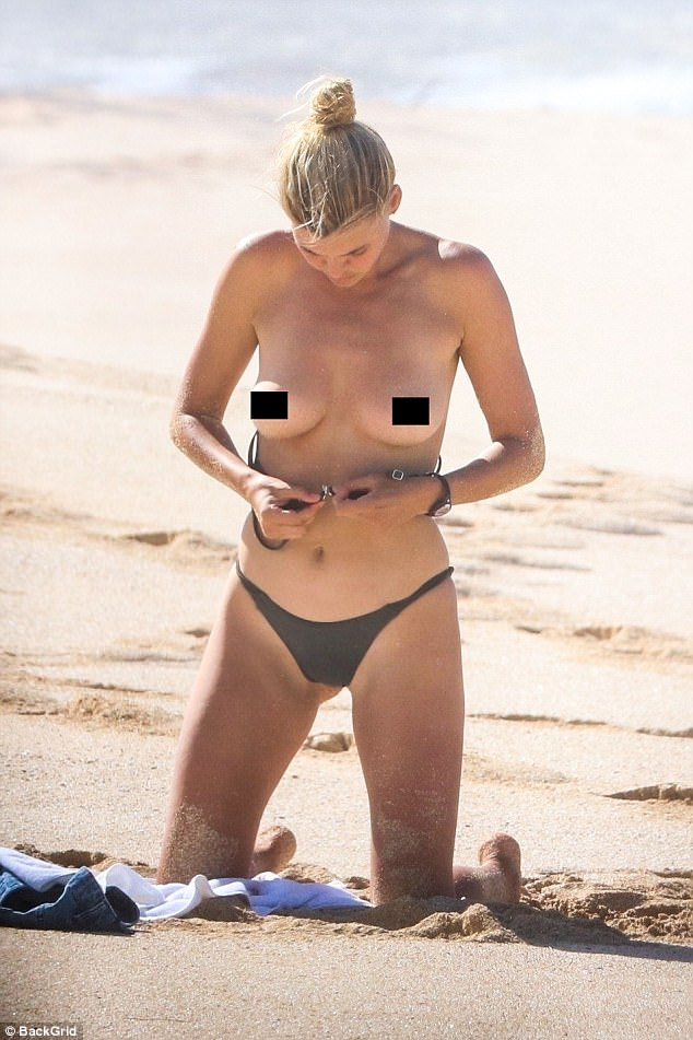 Kelly Rohrbach Goes Topless