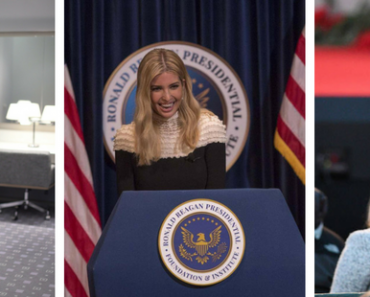 The first woman president, Ivanka entertained