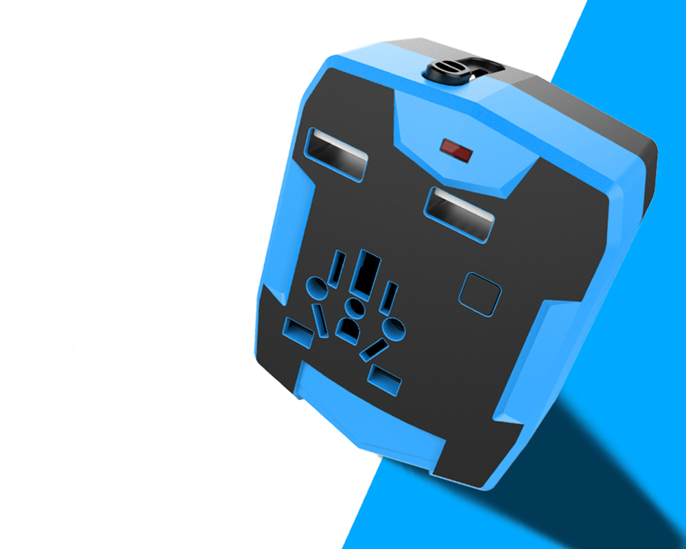 A Plug Adapter and Power Bank