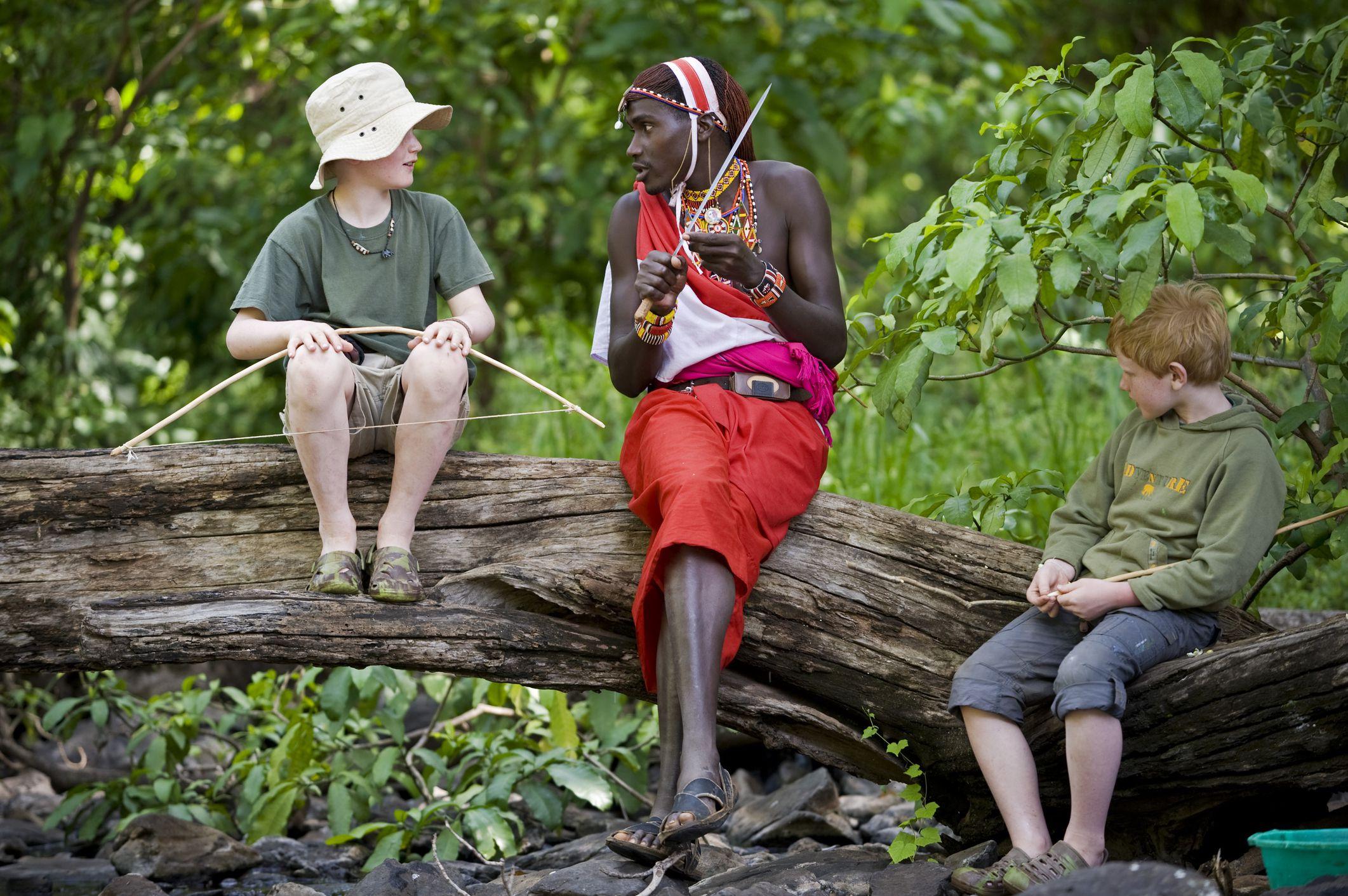 Travelers In Uganda