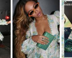 Beyonce Rocks Instagram