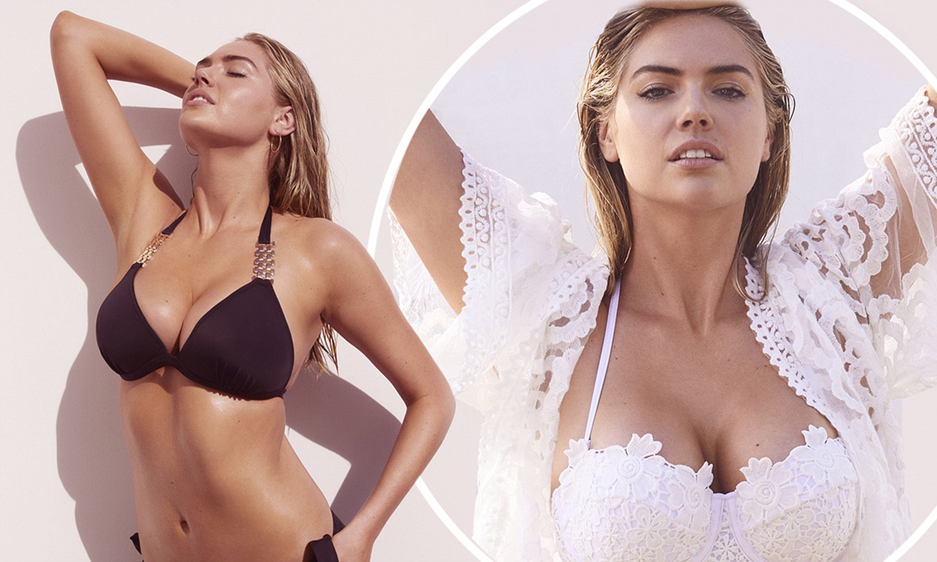 Busty Kate Upton Shows Off Her Famous Curves