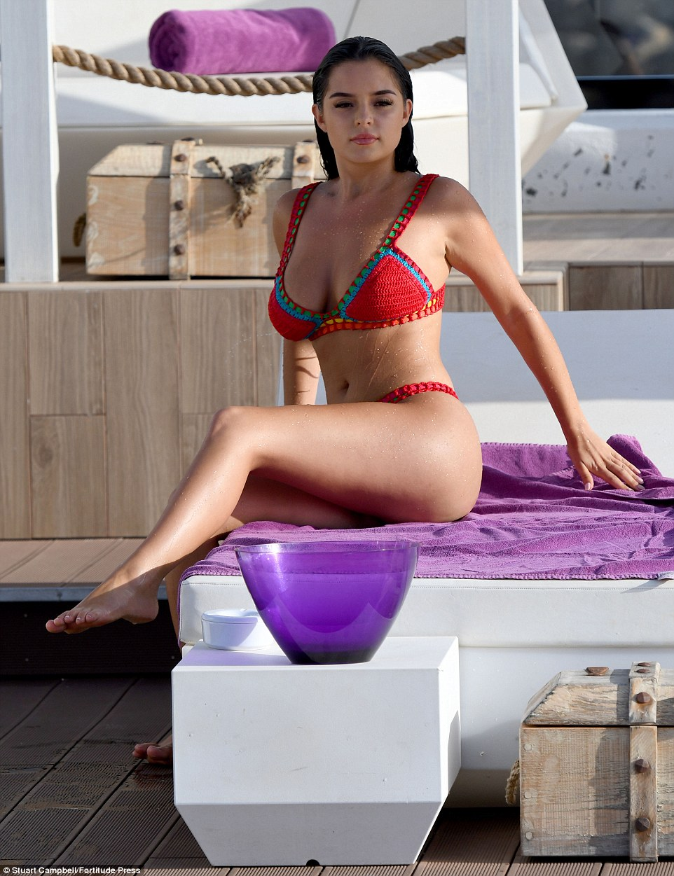 Demi Rose Curves