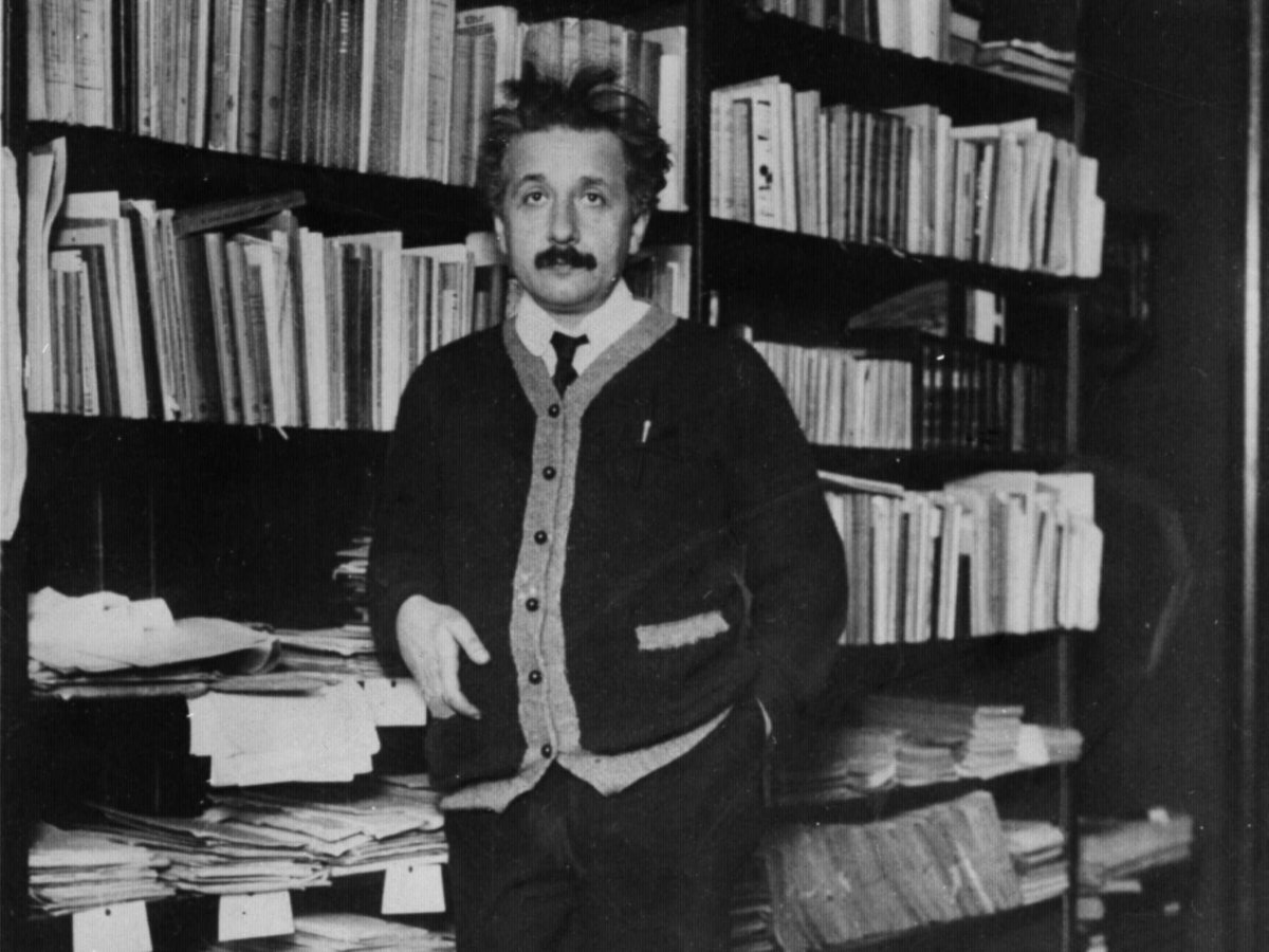 Inside Albert Einstein