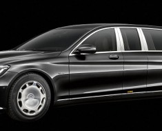 Mercedes-Maybach's Ultimate Limousine 'Pullman'