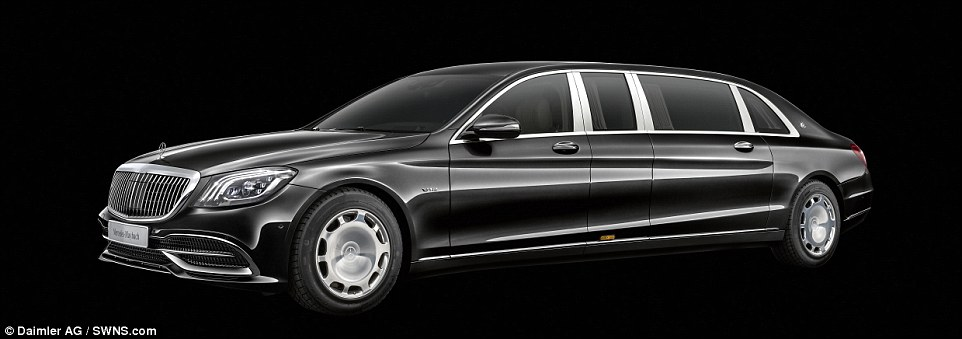 This ​​Mercedes-Maybach's Ultimate Limousine 'Pullman' Comes With A Hefty Starting Price Tag Of £450K