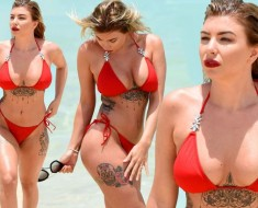 Olivia Buckland Shows Off Her Curves