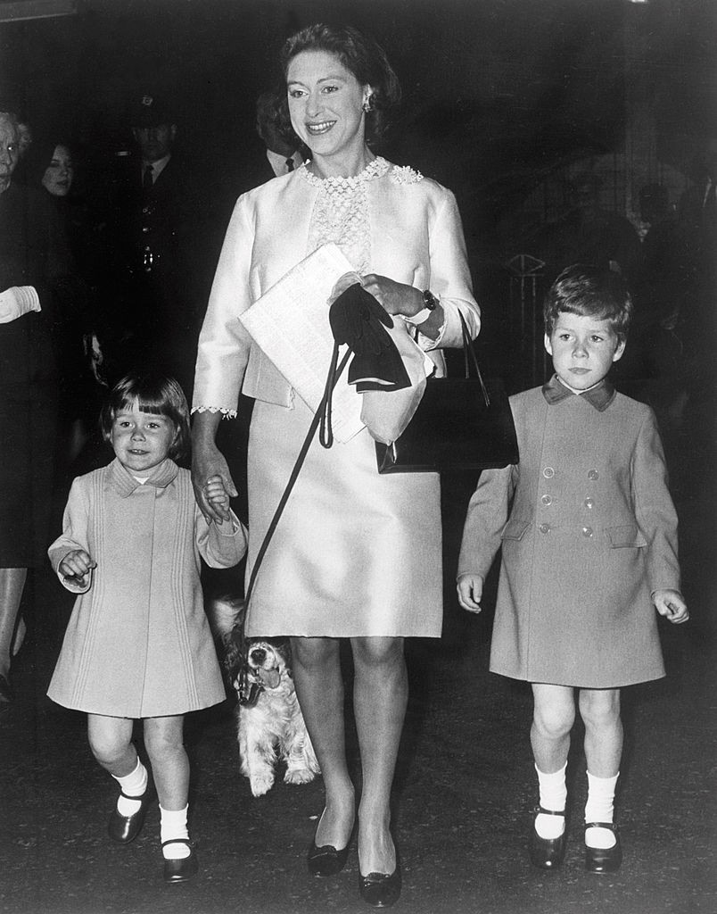 Princess Margaret, the younger sister of Britain's