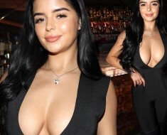 Demi Rose Flaunted Her Eye Popping Assets
