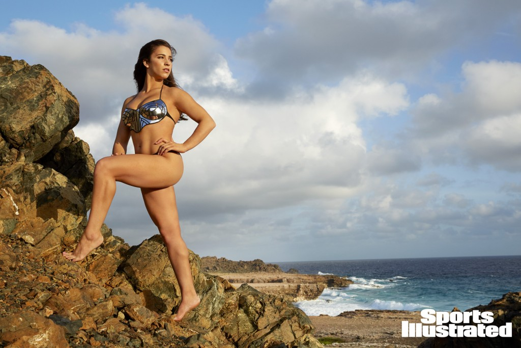 Swimsuit 2018: Aruba Athletes Aly Raisman Aruba 11/11/2017 X161518 TK4 Credit: James Macari