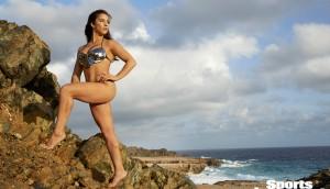 Swimsuit 2018: Aruba Athletes Aly Raisman Aruba 11/11/2017 X161518 TK4 Credit: James Macari