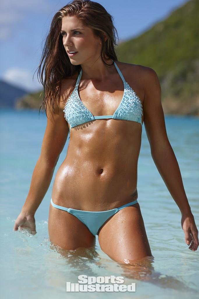 Swimsuit 2014: Guana Island Alex Morgan Guana Island/Guana Island, British Virgin Islands, USA 11/17/2013 X157207 TK1 Credit: Adam Franzino SELECT