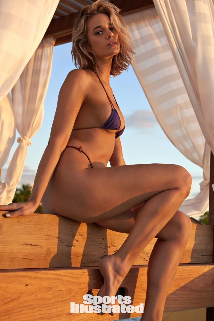 Swimsuit 2018: Belize Allie Elizabeth Ayers Belize 11/15/2017 X161519 TK4 Credit: Yu Tsai