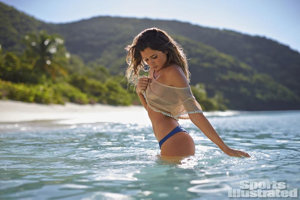 Swimsuit 2014: Guana Island Anastasia Ashley Guana Island/Guana Island, British Virgin Islands, USA 11/19/2013 X157207 TK3 Credit: Adam Franzino