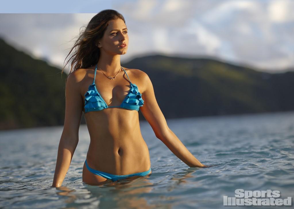 Swimsuit 2014: Guana Island Anastasia Ashley Guana Island/Guana Island, British Virgin Islands, USA 11/19/2013 X157207 TK3 Credit: Adam Franzino SELECT