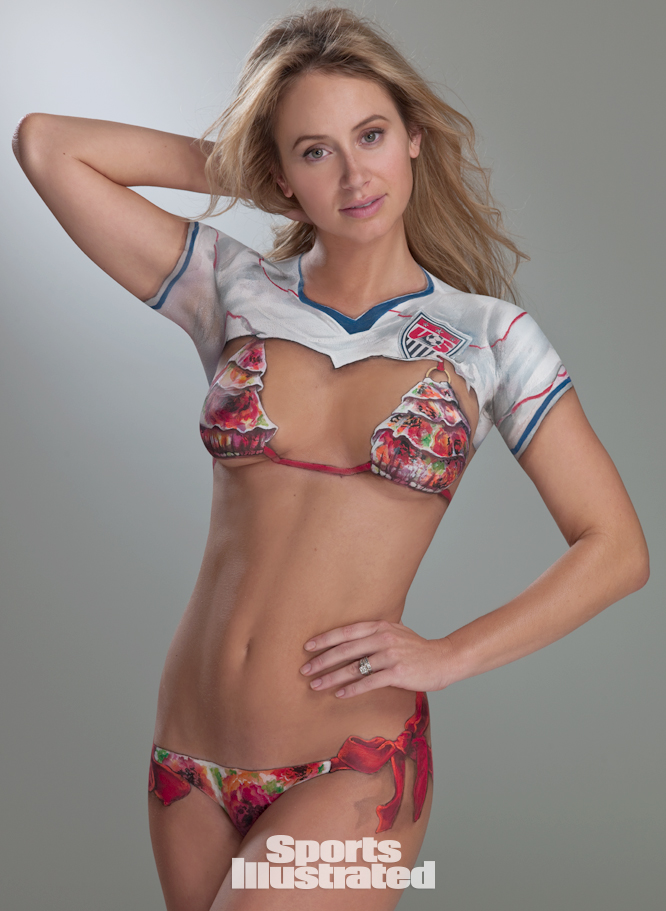 Body Paint Model Bethany Dempsey