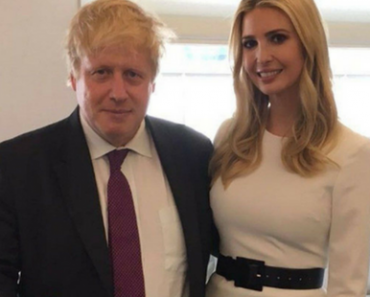 Ivanka Trump In Skin Tight Top Next To Boris Johnson