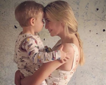 Ivanka Trump Photo With Her Youngest Son
