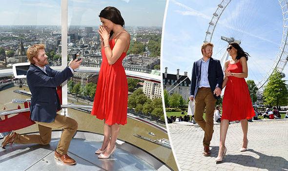 Prince Harry propose