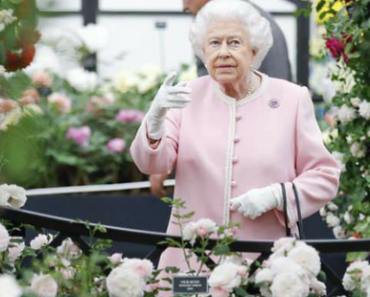 Queen Elizabeth Visits Chelsea Flower Show