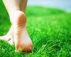Walk Barefoot In The Grass