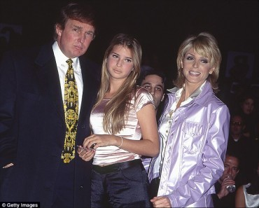 Ivanka with Father