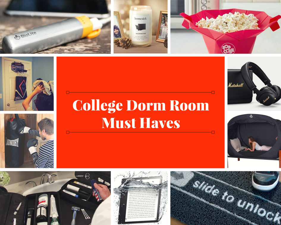 College Dorm Room Must-Haves