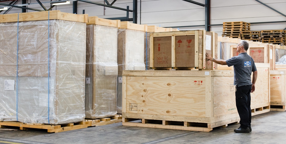 Exchange Pallet Boxes