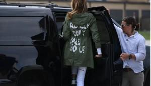 Melania Trump Jacket Controversy