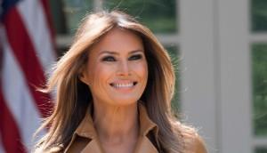 Melania Trump Reappears