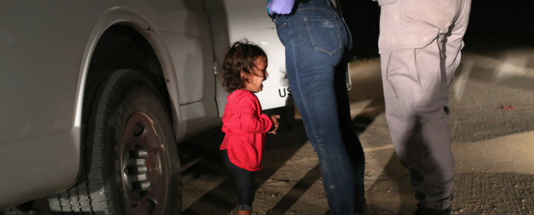These Photos Of Kids Separated From Their Parents Seeking Asylum In The US Will Break Your Heart