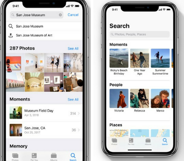 iOS 12 Photo Features
