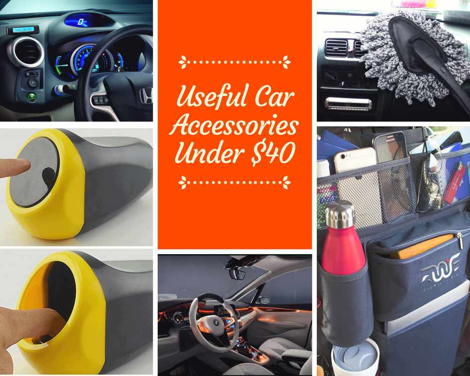 15 Cheap And Useful Car Accessories Under $40