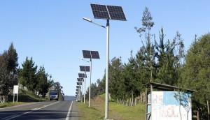 Installing Solar Street Lights