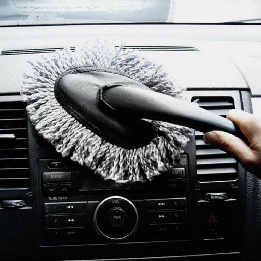 Multi-functional Car Duster Cleaning Dirt Dust Clean Brush Dusting Tool Mop