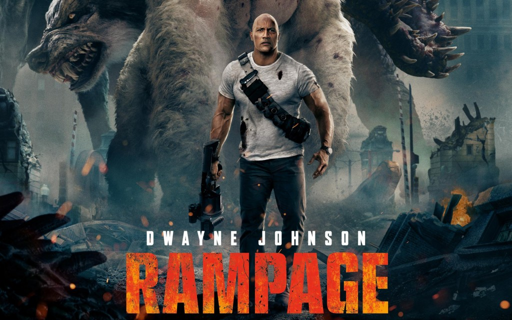 Watch Movie 'Rampage' This Weekend On Amazon Prime