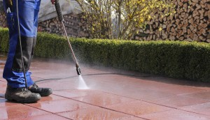 Use Pressure Washer