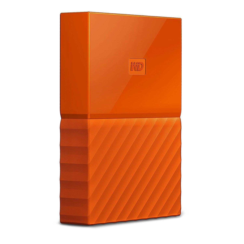 WD My Passport External Storage Drive