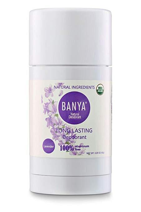 Banya Natural Organic Deodorant Stick Lavender 3.25 Oz